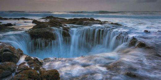 Fenomena Aneh, Lubang Raksasa Sedot Air Samudera Pasifik, Ini Penampakannya
