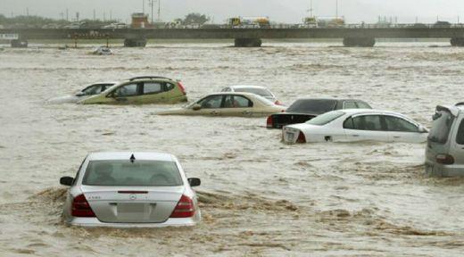 Diterjang Banjir Berkecepatan 169 Kilometer Per Jam, Kondisi Busan Mengerikan