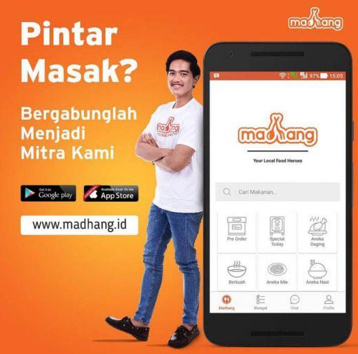 Gandeng Grab dan PayTren, Aplikasi Madhang Kaesang Kini Punya 2.000 Warung