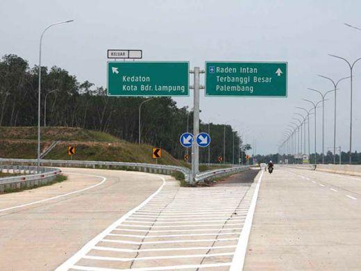 Besok, Jokowi Resmikan Jalan Tol Trans Sumatera