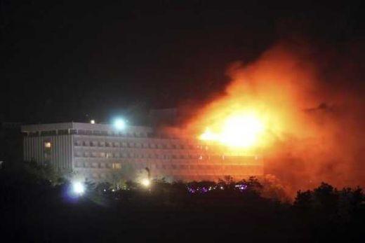 18 Orang Tewas dan12 Cedera dalam Serangan terhadap Hotel di Kabul