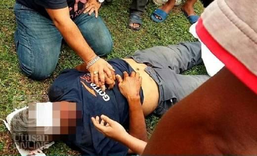 Tragis, Ayah Tewas Ditabrak Motor yang Dikendarai Anak Kandungnya