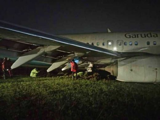 Bandara Adi Sutjipto Ditutup Sementara Akibat Insiden Pesawat Garuda B737 dengan Nomor Penerbangan GA 258