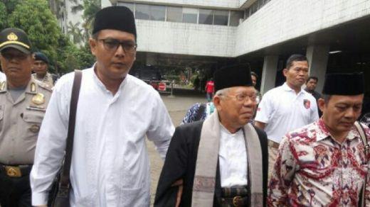MUI Akan Cari Tahu Penyebab Kiai Maruf Amin Diperlakukan Seperti Terdakwa di Persidangan Kasus Ahok