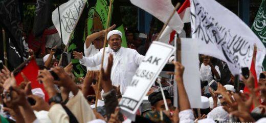 Polisi Periksa Habib Rizieq dan Ustaz Bachtiar Nasir, 2.000 Massa Datang Mengawal