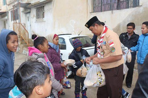 KBRI Yordania: Bantuan Pramuka Beri Semangat Perjuangan Rakyat Palestina
