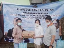 PSSI Peduli Bencana Kalsel dan Sulbar