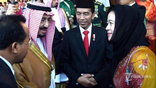 Raja Salman Mencari-cari Cucu Soekarno, Jokowi Lalu Perkenalkan Puan Maharani