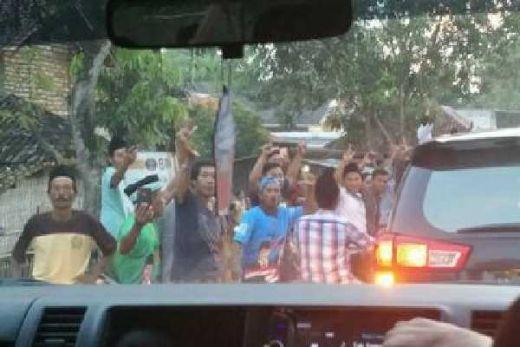 Berangkat Ziarah ke Makam Ulama, Maruf Amin Disambut Teriakan Prabowo