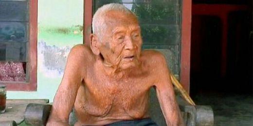 Orang Tertua di Dunia Mbah Goto Tutup Usia, Ngotot Minta Pulang dari Rumah Sakit karena Ingin Meninggal di Rumah