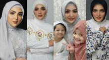4 Gaya Ashanty Berhijab saat Ramadan Tuai Pujian Netizen: Cantiknya Masya Allah