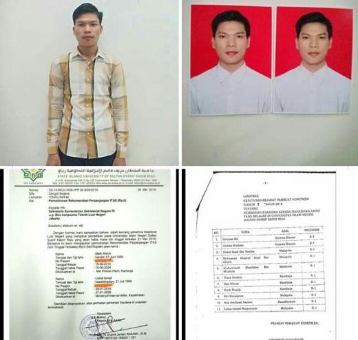 Mat Alimin, Hafiz Alquran asal Kamboja Ingin Selesaikan Pendidikan di UIN Suska Pekanbaru, Yuk Kita Bantu Saudaraku!