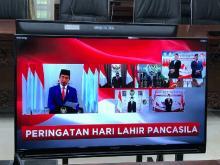 Hari Lahir Pancasila, Pimpinan DPD Ajak Semua Elemen Gelorakan Budaya Gotong Royong
