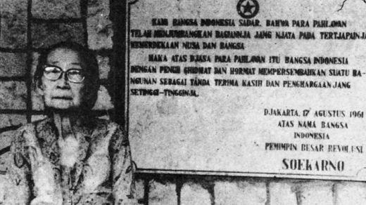 Siti Oetari istri pertama bung Karno