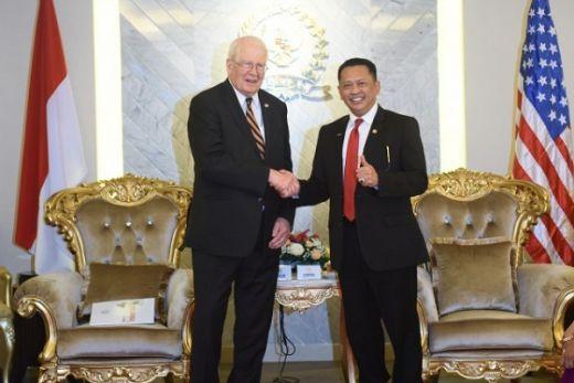 Terima Delegasi AS, Ketua DPR Promosikan Demokrasi dan Pluralisme di Indonesia
