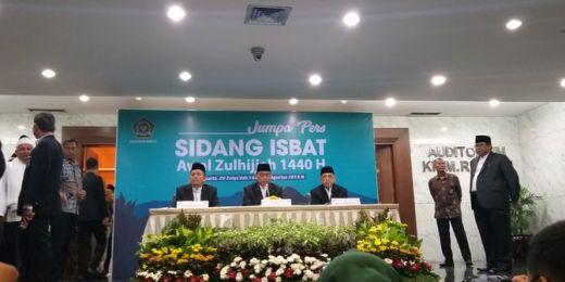 Sidang Isbat Kemenag: Idul Adha Jatuh pada 11 Agustus 2019