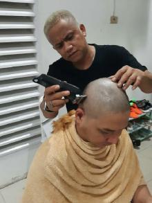 Ditegur Menteri Tito Karena Rambut Pirang, Pasha Ungu Akhirnya Cukur Gundul