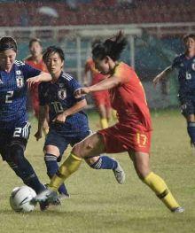 Sundulan Sugawasa Yuika Antar Jepang Juarai Sepakbola Putri