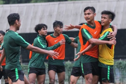 Pemain Timnas U 19 Indonesia Sudah Lengkap Jalani TC