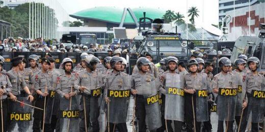 Begini Pengamanan Ketat di Gedung DPR Jelang Sidang Paripurna dan Pelantikan