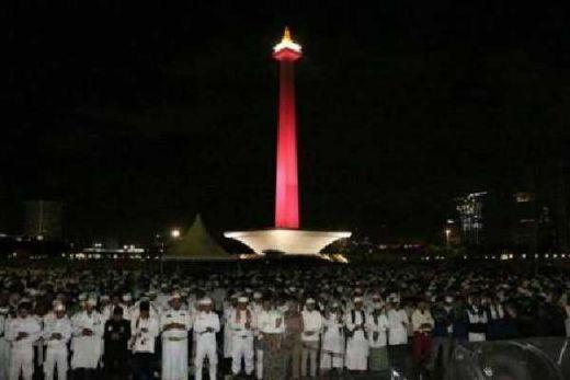 Kondisi Terkini di Monas dan Masjid Istiqlal Jelang Reuni 212 Besok