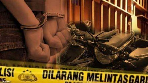 Berawal dari Rekaman CCtv, Polisi Berhasil Bekuk Dua Pelaku Pencurian Sepeda Motor