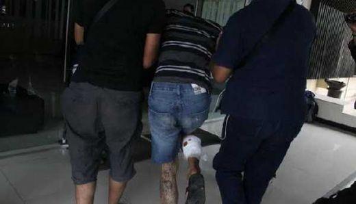 Melawan Petugas, Dua Pelaku Ranmor Dihadiahi Timah Panas di Kakinya