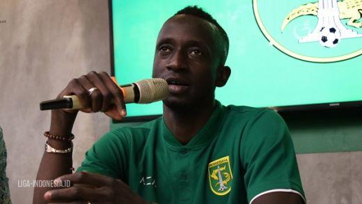 Bicara Soal Arema FC, Konate: Saya Profesional