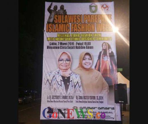 Nanti Malam, Sulawesi Parepare Islam Fashion Week Siap Digelar