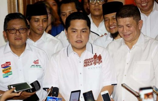 Tak Berani Muluk-muluk, Erick Thohir Hanya Targetkan 50 Persen Suara Jokowi di Sumsel