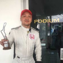 Alvin Bahar Tetap Puas dengan Podium 2