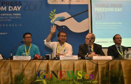 World Press Freedom Day 2017, Menkominfo: Pemerintah Jamin Kemerdekaan Pers