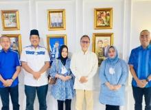 Putri Semata Wayang Bupati Bengkalis jadi Bendahara PAN, Irvan Herman: Terima Kasih