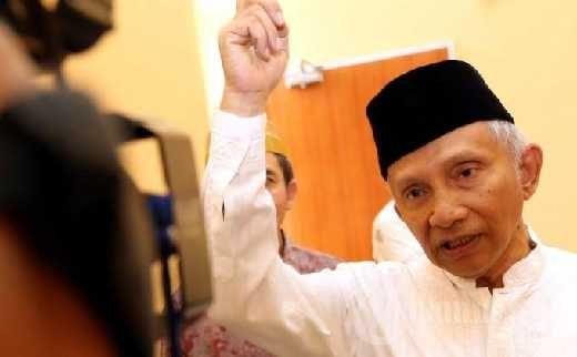 Amien Rais Dituding Terima Uang Rp600 Juta, DPP PAN Mengaku Belum Siapkan Tim Bantuan Hukum
