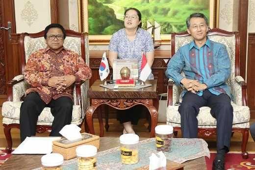 Terima Duta Besar Korea Selatan, Ketua DPD Bahas Peningkatan Investasi di Indonesia