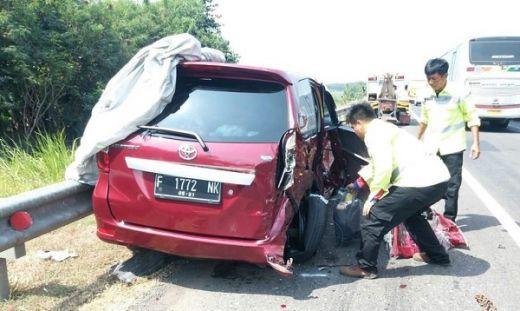Kecelakaan Beruntun Tiga Mobil di Tol Cipali, Satu Orang Meninggal Dunia