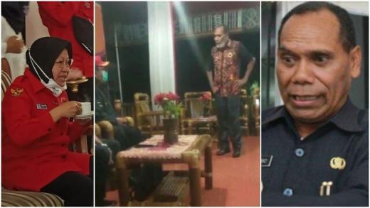 Katai Risma Bodoh dan Usir Staf Kemensos, Bupati Alor: Pimpin Surabaya Cuma Tanam Bunga, Tau Apa Dia