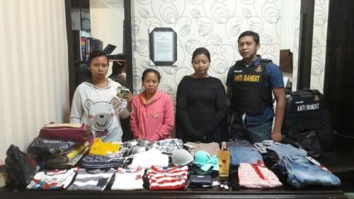 Mertua dan Dua Menantu Kompak Mencuri di Mall, Ketahuan Akhirnya Ditangkap Polisi