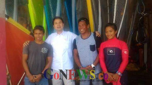 Aziz Datang, Semangat Atlet Selancar Tumbuh Kembali
