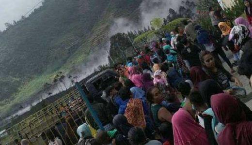 Kawah Sileri Meletus, Lokasi Wisata Dieng Jawa Tengah Ditutup Untuk Umum