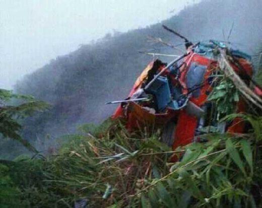 Heli Basarnas Diduga Tabrak Tebing Gunung Butak, 2 Orang Dinyatakan Tewas