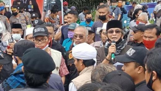 Forum Mujahid Pastikan Denny Siregar Ketemu Batunya di Tasikmalaya
