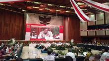 Syamsuar Paparkan Pengendalian Karhutla di Hadapan Menko Polhukam dan 26 Kementerian