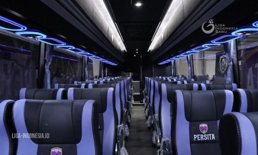 Luncurkan Bus Baru, Persita Tangerang Lebih Profesional