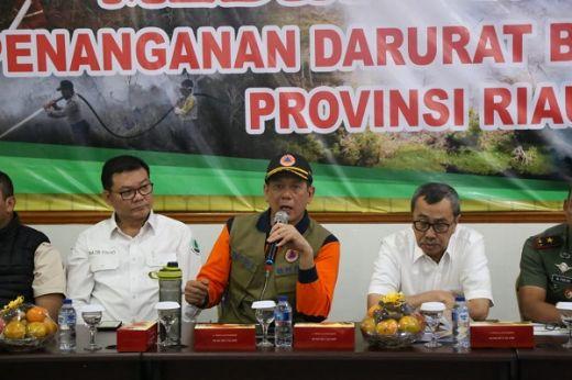 BNPB Ajak Pemerintah dan Masyarakat Hilangkan Asap di Riau
