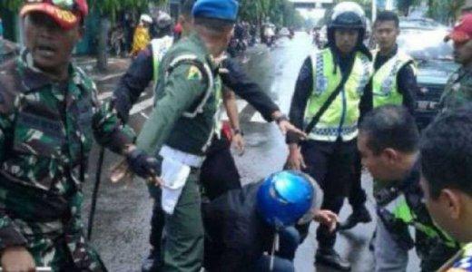 Meliput Kecelakaan, Jurnalis NetTV Malah  Dianiaya Oknum TNI di Madiun