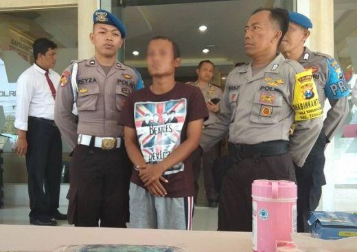 Ditangkap Polisi, Pelaku Onani di Bilik ATM Dijerat UU Pornografi