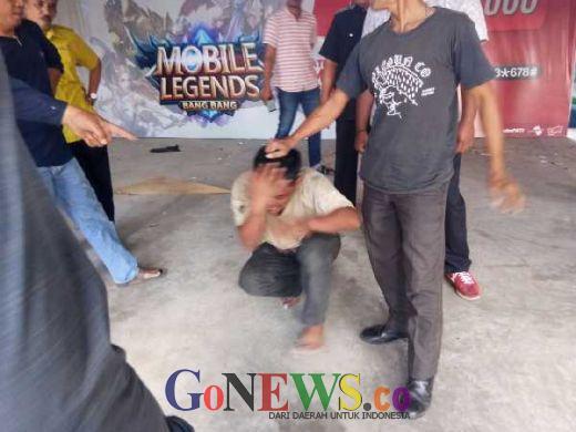 Kepergok Curi Kabel di Komplek Bandar Serai Purna MTQ, Pria Ini Ngaku Pasien RS Jiwa