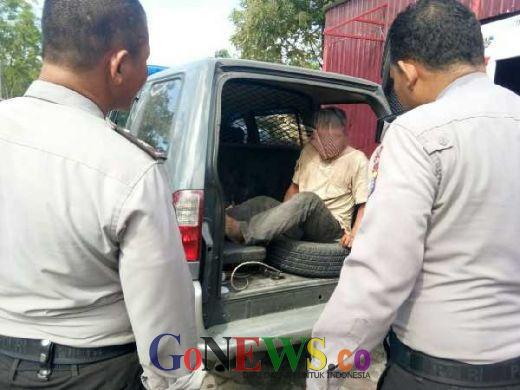 Satu Jam Diamankan Warga, Pencuri Kabel di Komplek Purna MTQ Akhirnya Dijemput Polisi