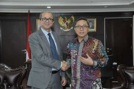 Ketua MPR Dukung Peningkatan Kerjasama Maroko-Indonesia